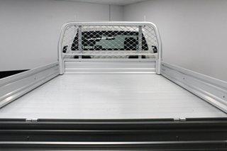 2017 Mazda BT-50 UR0YG1 XT White 6 Speed Manual Cab Chassis