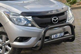 2016 Mazda BT-50 UR0YG1 XT Silver, Chrome 6 Speed Sports Automatic Utility