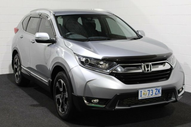 Used Honda CR-V RW MY19 VTi-S 4WD, 2018 Honda CR-V RW MY19 VTi-S 4WD Silver 1 Speed Wagon