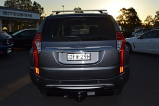 2015 Mitsubishi Pajero Sport QE MY16 GLX Grey 8 Speed Sports Automatic Wagon