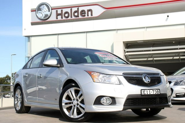 Used Holden Cruze JH Series II MY14 SRi Z Series, 2014 Holden Cruze JH Series II MY14 SRi Z Series Silver 6 Speed Sports Automatic Sedan