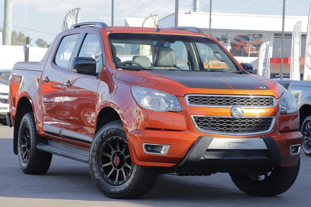 Used Holden Colorado RG MY16 Z71 Crew Cab, 2015 Holden Colorado RG MY16 Z71 Crew Cab Orange Rock 6 Speed Sports Automatic Utility