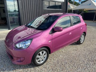 2014 Mitsubishi Mirage LA ES Purple 5 Speed Manual Hatchback.