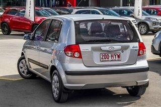 2004 Hyundai Getz TB MY04 GL Silver, Chrome 5 Speed Manual Hatchback.