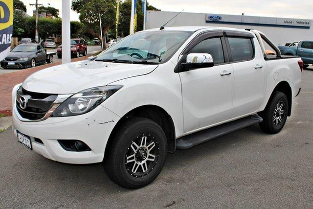 Used Mazda BT-50 UR0YG1 GT, 2017 Mazda BT-50 UR0YG1 GT White 6 Speed Sports Automatic Utility
