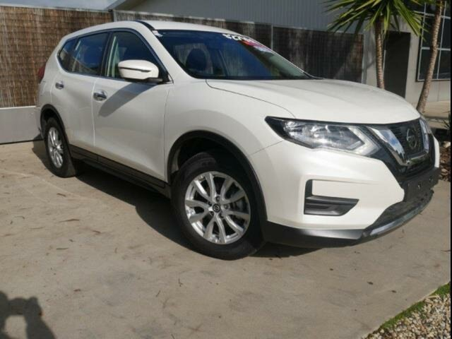 Used Nissan X-Trail T32 Series 2 ST (2WD), 2019 Nissan X-Trail T32 Series 2 ST (2WD) White Continuous Variable Wagon