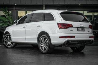 2011 Audi Q7 MY12 TDI Tiptronic Quattro White 8 Speed Sports Automatic Wagon.