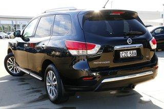 2015 Nissan Pathfinder R52 MY17 Series 2 ST (4x2) Black Automatic Wagon.