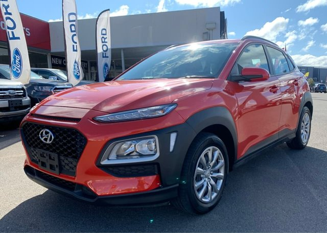 Used Hyundai Kona  Go, 2019 Hyundai Kona Go Orange Sports Automatic Wagon