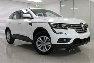 2018 Renault Koleos HZG Life Solid White 1 Speed Constant Variable Wagon.