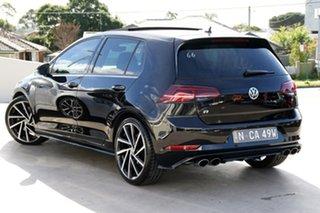 2018 Volkswagen Golf 7.5 MY18 R DSG 4MOTION Grid Edition Black 7 Speed Sports Automatic Dual Clutch.