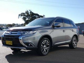 2016 Mitsubishi Outlander ZK MY16 LS 2WD Grey 6 Speed Wagon