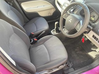 2014 Mitsubishi Mirage LA ES Purple 5 Speed Manual Hatchback