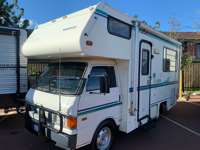 Used Mazda E2000  , 1993 Mazda E2000 Winnebago White Manual Motor Home