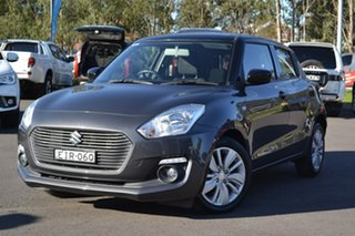 2017 Suzuki Swift AZ GL Navigator Grey 1 Speed Hatchback.
