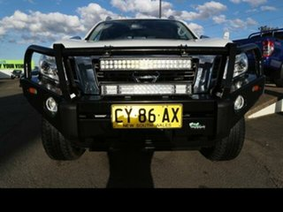 2017 Nissan Navara D23 Series II ST-X (4x4) White 6 Speed Manual Dual Cab Utility