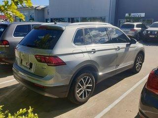 2016 Volkswagen Tiguan 5N MY17 132TSI DSG 4MOTION Comfortline Silver 7 Speed.