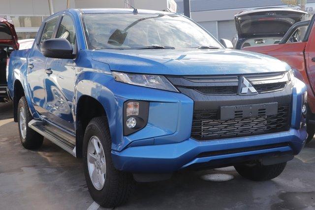 Demo Mitsubishi Triton MR MY19 GLX+ Double Cab, 2019 Mitsubishi Triton MR MY19 GLX+ Double Cab Impulse Blue 6 Speed Sports Automatic Utility