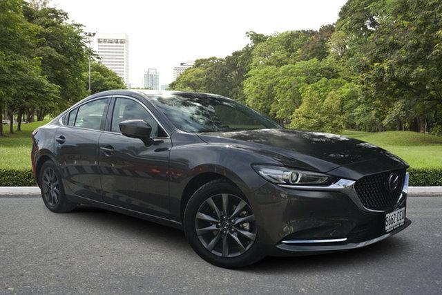 Demo Mazda 6 GL1033 Touring SKYACTIV-Drive, 2019 Mazda 6 GL1033 Touring SKYACTIV-Drive Machine Grey 6 Speed Sports Automatic Sedan