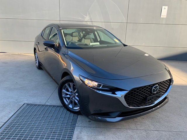 New Mazda 3 BP2S7A G20 SKYACTIV-Drive Pure, 2020 Mazda 3 BP2S7A G20 SKYACTIV-Drive Pure Machine Grey 6 Speed Sports Automatic Sedan