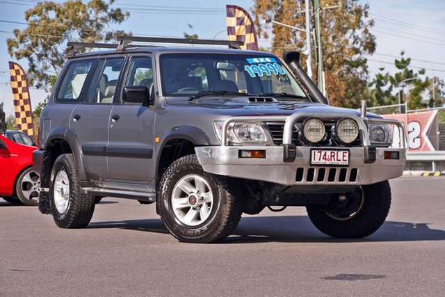 Used Nissan Patrol GU IV MY05 ST, 2004 Nissan Patrol GU IV MY05 ST Grey 5 Speed Manual Wagon