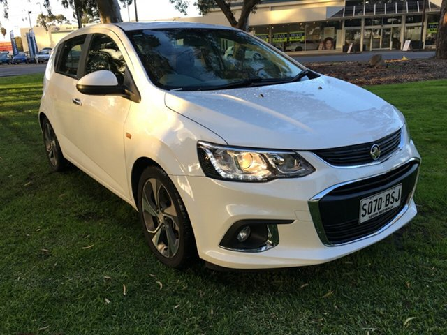 Used Holden Barina TM MY17 LT, 2017 Holden Barina TM MY17 LT White 6 Speed Automatic Hatchback
