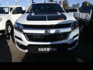 2017 Holden Colorado RG MY18 Z71 (4x4) White 6 Speed Automatic Crew Cab Pickup
