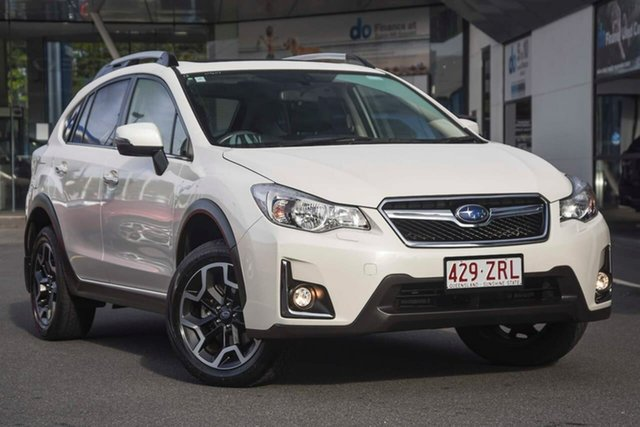 Used Subaru XV G4X MY16 2.0i-S Lineartronic AWD, 2016 Subaru XV G4X MY16 2.0i-S Lineartronic AWD White 6 Speed Wagon