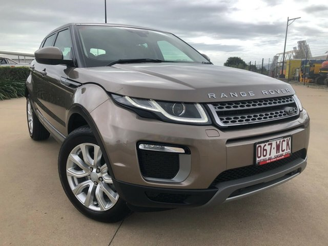 Used Land Rover Range Rover Evoque L538 MY16 TD4 150 SE, 2015 Land Rover Range Rover Evoque L538 MY16 TD4 150 SE Kaikoura Stone 9 Speed Sports Automatic