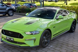 2019 Ford Mustang FN 2020MY GT Fastback SelectShift RWD Green 10 Speed Sports Automatic Fastback