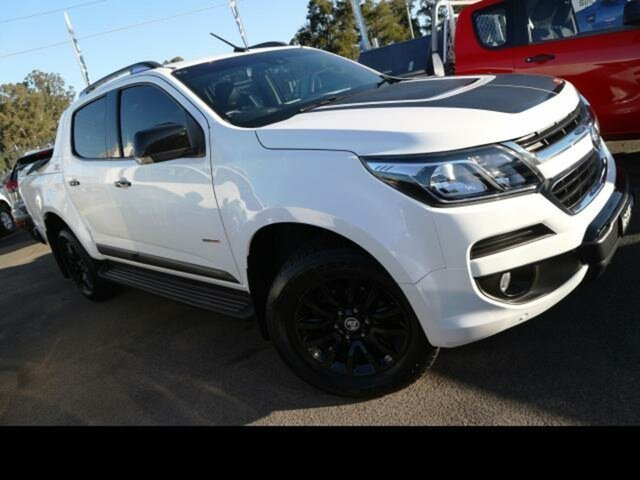 Used Holden Colorado RG MY18 Z71 (4x4), 2017 Holden Colorado RG MY18 Z71 (4x4) White 6 Speed Automatic Crew Cab Pickup