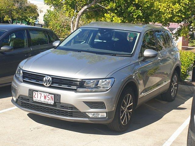 Used Volkswagen Tiguan 5N MY17 132TSI DSG 4MOTION Comfortline North Rockhampton, 2016 Volkswagen Tiguan 5N MY17 132TSI DSG 4MOTION Comfortline Silver 7 Speed
