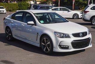 2017 Holden Commodore VF II MY17 SV6 White 6 Speed Sports Automatic Sedan.