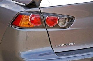 2012 Mitsubishi Lancer CJ MY12 VR-X Grey 5 Speed Manual Sedan