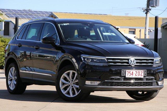 Used Volkswagen Tiguan 5N MY17 162TSI DSG 4MOTION Highline, 2016 Volkswagen Tiguan 5N MY17 162TSI DSG 4MOTION Highline Deep Black 7 Speed
