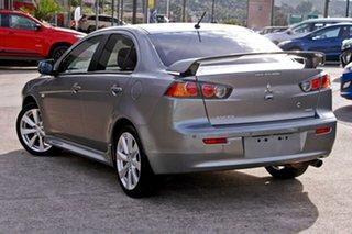 2012 Mitsubishi Lancer CJ MY12 VR-X Grey 5 Speed Manual Sedan.
