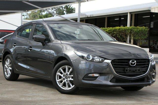 Used Mazda 3 BN5478 Neo SKYACTIV-Drive Sport, 2018 Mazda 3 BN5478 Neo SKYACTIV-Drive Sport Grey 6 Speed Sports Automatic Hatchback