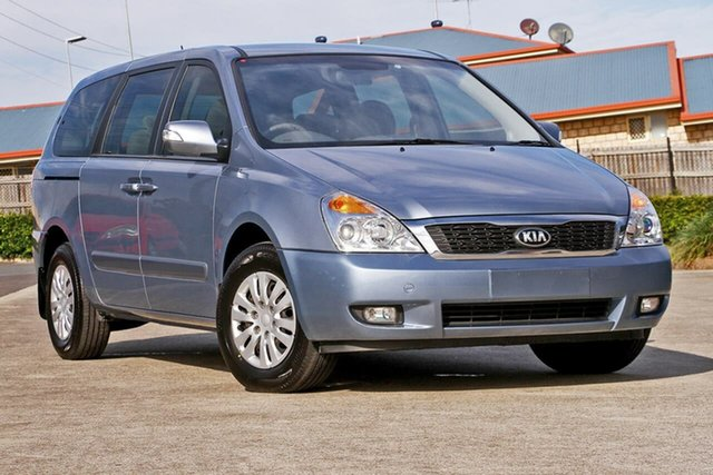 Used Kia Grand Carnival VQ MY14 S, 2014 Kia Grand Carnival VQ MY14 S Blue 6 Speed Sports Automatic Wagon