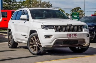 2016 Jeep Grand Cherokee WK MY16 75th Anniversary White 8 Speed Sports Automatic Wagon.