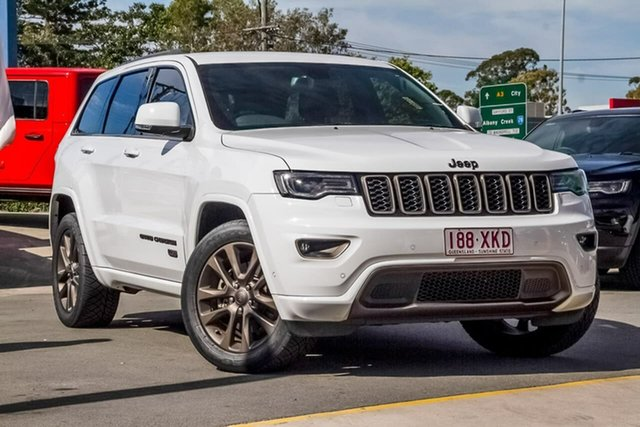 Used Jeep Grand Cherokee WK MY16 75th Anniversary, 2016 Jeep Grand Cherokee WK MY16 75th Anniversary White 8 Speed Sports Automatic Wagon