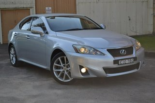 2010 Lexus IS GSE20R MY11 IS250 Prestige Grey 6 Speed Sports Automatic Sedan.