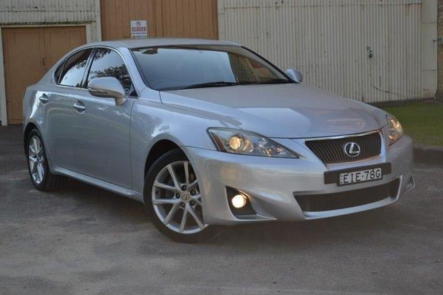 Used Lexus IS GSE20R MY11 IS250 Prestige, 2010 Lexus IS GSE20R MY11 IS250 Prestige Grey 6 Speed Sports Automatic Sedan