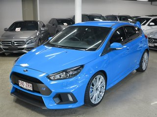 2017 Ford Focus LZ RS AWD Blue 6 Speed Manual Hatchback.