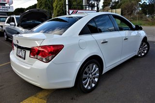 2014 Holden Cruze JH Series II MY14 Z Series White 6 Speed Sports Automatic Sedan.