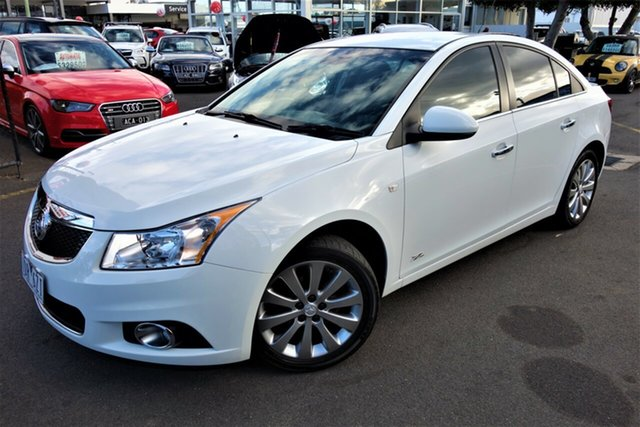 Used Holden Cruze JH Series II MY14 Z Series Seaford, 2014 Holden Cruze JH Series II MY14 Z Series White 6 Speed Sports Automatic Sedan