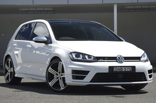 2017 Volkswagen Golf AU MY17 R White 6 Speed Direct Shift Hatchback.