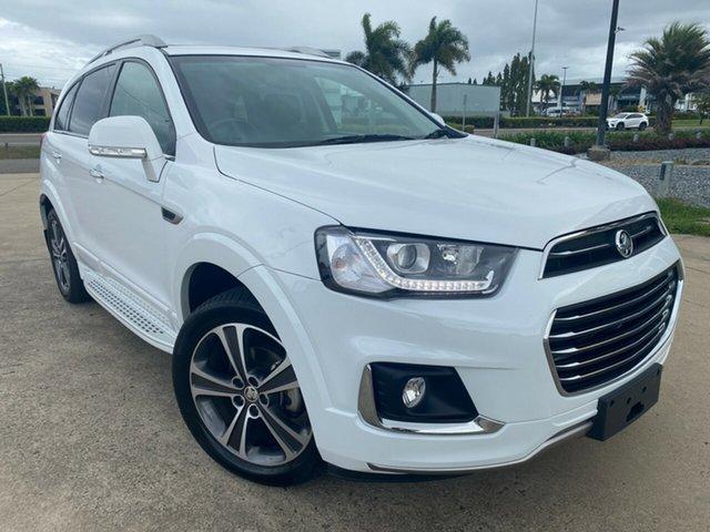 Used Holden Captiva CG MY18 LTZ AWD, 2018 Holden Captiva CG MY18 LTZ AWD White 6 Speed Sports Automatic Wagon