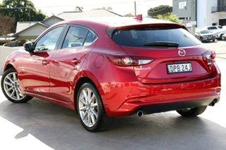 2017 Mazda 3 BN5438 SP25 SKYACTIV-Drive GT Soul Red 6 Speed Sports Automatic Hatchback.