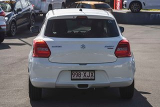 2017 Suzuki Swift AZ GLX Turbo Pure White 6 Speed Sports Automatic Hatchback