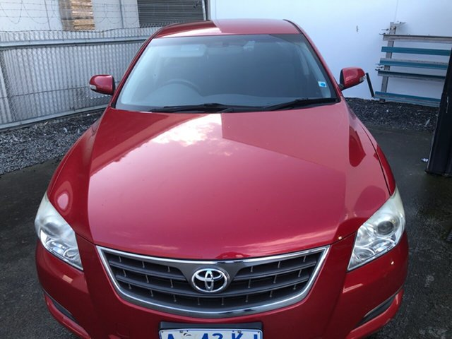 Used Toyota Aurion GSV40R AT-X, 2007 Toyota Aurion GSV40R AT-X Red 6 Speed Sports Automatic Sedan